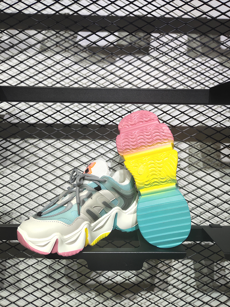 Women's Shoes Platform-Sneakers FORCE Female Fashion Summer Ladies MBR Mixed-Colors