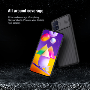 Image 3 - NILLKIN Case for Samsung Galaxy M31S Back cover,Camera Protection Slide Protect Cover Lens Protection Back coverfor Samsung M31S