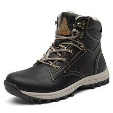 Зимняя мужская обувь; Зимние ботильоны; мужские уличные военные ботинки; теплые кроссовки; армейские ботинки; нескользящая хлопковая обувь на плоской подошве; botas hombre