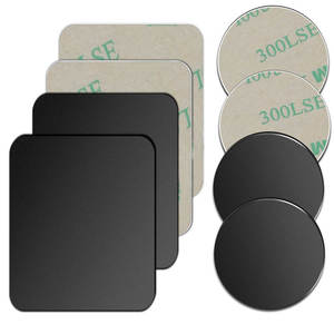 Plate-Disk Magnet Iron-Sheet-Sticker Car-Stand-Mount Car-Phone-Holder Metal for 5pcs/1pc/lot