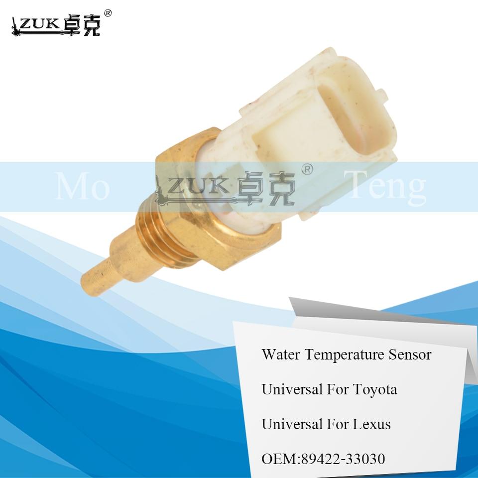 ZUK Water Temperature Sensor For Toyota YARIS PRIUS COROLLA AVENSIS RAV4 LAND CRUISER PRADO For LEXUS For Scion 89422-33030(China)