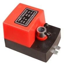 Hava sönümleme vana Ac220V elektrik kanalı elektrikli Damper aktüatör havalandırma vanaları sinyal geribildirim ile