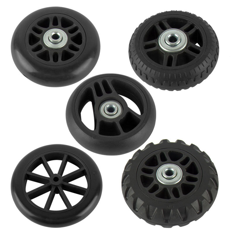 1 Pair Suitcase Wheels Luggage Suitcase Replacement Wheel Axles Deluxe Repair Tool Casters Bags Accessories