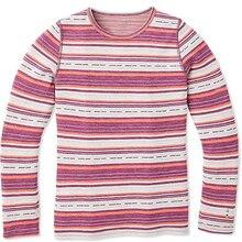 Мериносовая шерсть детское термобелье Топ, рубашка мериносовая шерсть детская теплая Пижама с базовым слоем Топ, футболка LS мягкая одежда для мальчиков и девочек