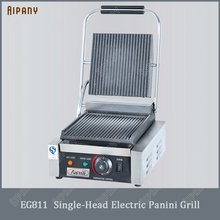 EG811/EG813/EG815 single/double plate panini grill table top sandwich maker commercial electric
