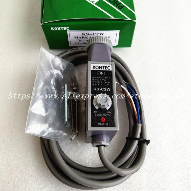 KS C2W KS C2B KS C2R KS C2G KONTEC Color Sensor Marking Photoelectric Eye New Original