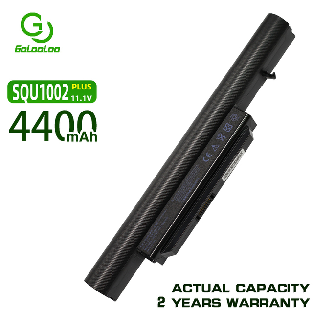 Golooloo laptop battery for Hasee SQU 1002 SQU 1003 SQU 1008 K580 PA560P R410 CQB913 CQB916 CQB912 K580S CQB917 R410G R410U