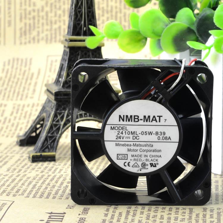 NMB 2410ML-05W-B39 NMB06025SS-24M-AL 6025 24V 60 * 60 * 25 NMB Fan With Detection Alarm Function