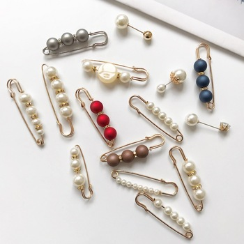 New women's large pearl brooch pin brooch creative multi-style fashion female high-quality brooch bernie S033 image