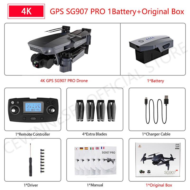 SG907 pro 4K 1B Box