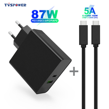Charger Macbook Power-Adapter TYPE-C Pro USB-C for Laptops Pro/air-iPad QC3.0 1port PD65W
