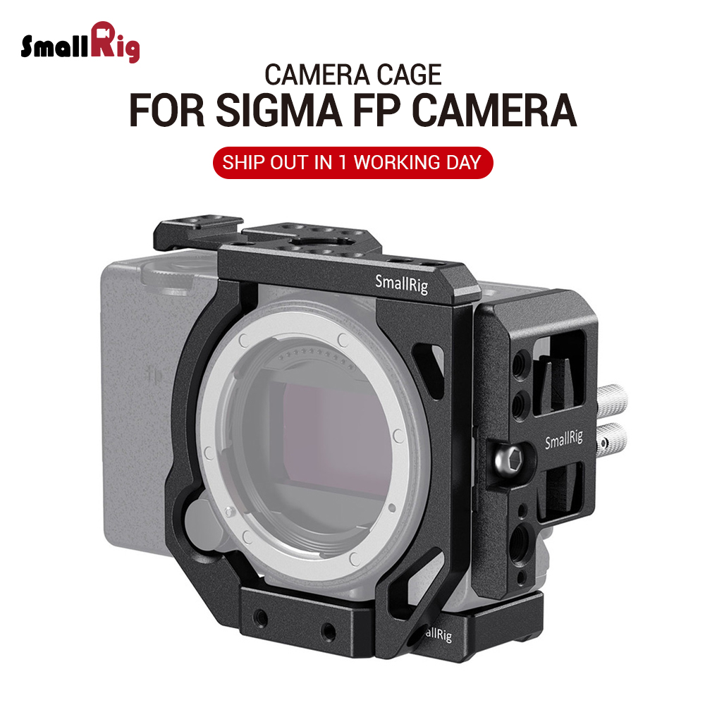 SmallRig Modular Cage For SIGMA Fp Camera Cage Feature With  Cold Shoe Mount For Mic Or Light 2712