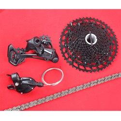 Sram sx eagle 12 velocidade mtb bicicleta pequeno grupo kit gatilho shifter alavanca desviador corrente & pg 1210 cassete 11-50t