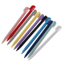 10 pçs caneta stylus tela de toque plástico para ndsl 3ds xl nds lite dsl atacado