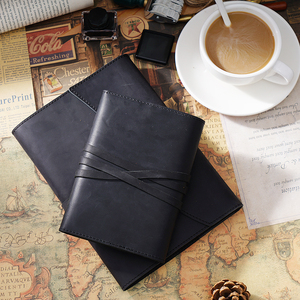 Image 5 - 100% Genuine Leather Notebook Planner Book Cover A5 A6 Size For MD Diary Original Journal Drawing Sketchbook
