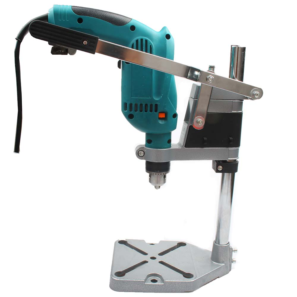 Electric Drill Stand Holding Holder Bracket Single-head Rack Drill Holder Grinder Accessories For Woodworking Rotary Tool Vise