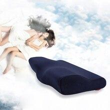 Пена с эффектом памяти постельные принадлежности защитная подушка для шеи медленный с пенным наполнителем с эффектом памяти для Подушка-бабочка размер 30* 50cm. 33*60 см