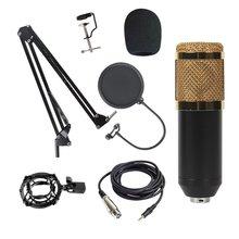 Bm800 Condenser Microphone Host Computer Recording Stand Lar