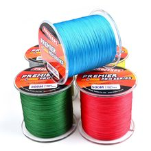PE Fishing Line 500M 4 Strands Multifilament Braided Wire 6-100 LB Carp Fishing Line Fly Fishing Accessories for Fishing Rod L10(China)