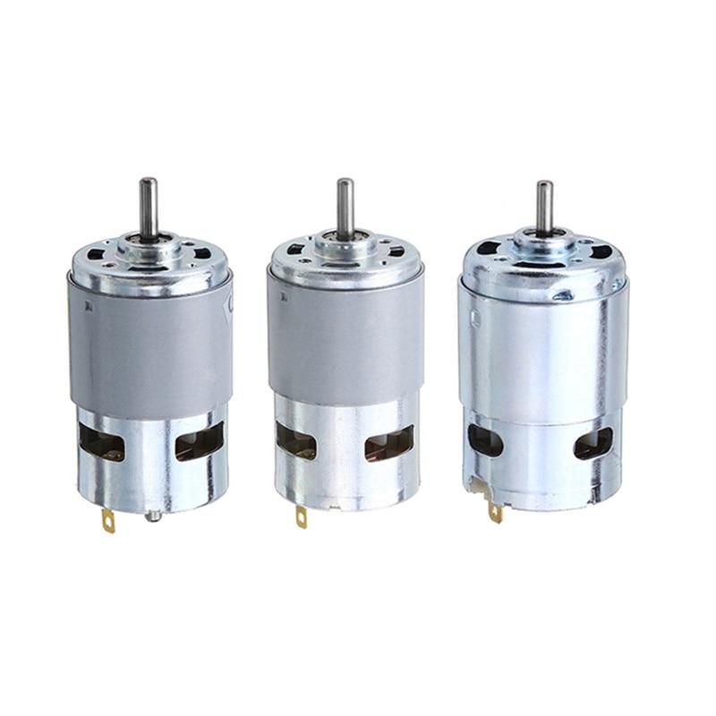 Durable 775 795 895 Motor/Motor Bracket DC 12V-24V 3000-12000RPM Motor Large Torque Gear Motor For Engraving Machine Lathe Tool