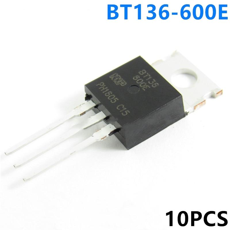 10PCS New BT136-600E BT136 / 137-600D BT136-600D Three-terminal Bidirectional SCR Spot Wholesale
