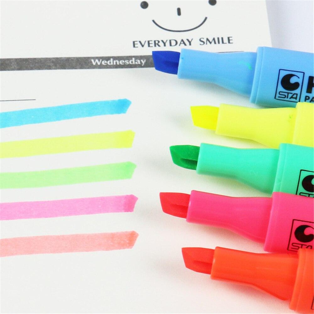 Флуоресцентная ручка маркер «сделай сам» 8 шт/компл Канцтовары