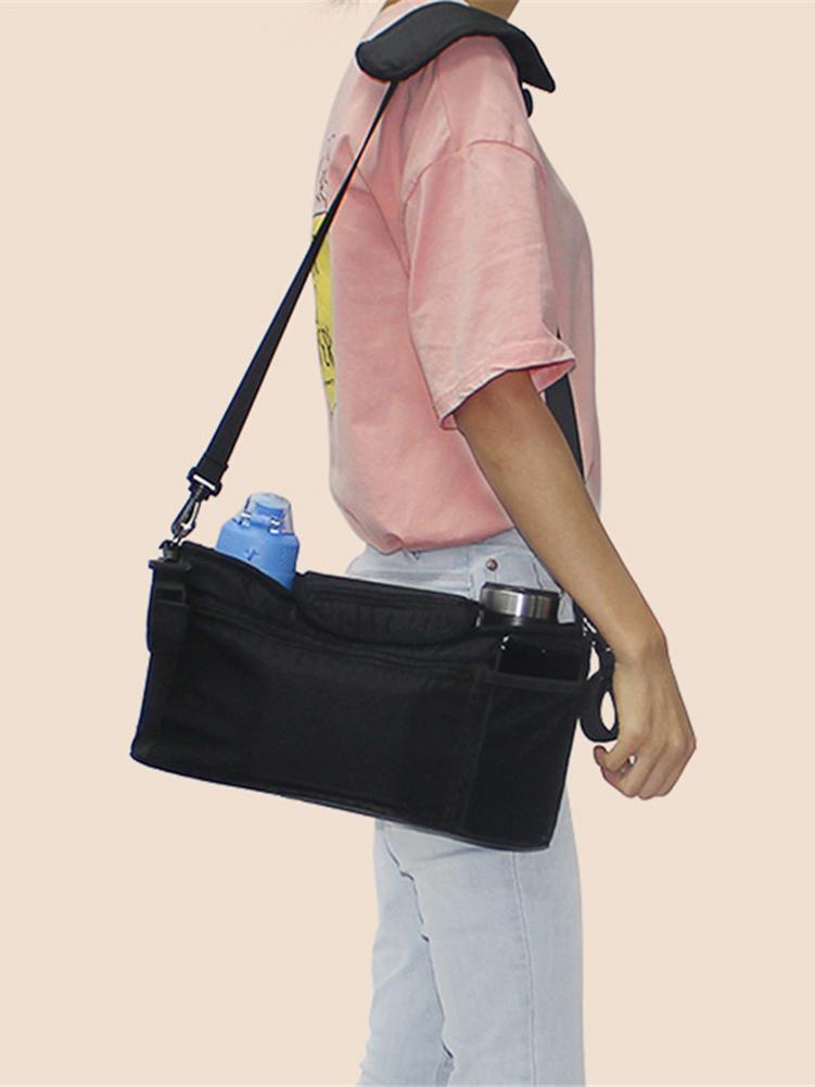 Bag Mummy-Bag Stroller-Accessories Storage-Organizer Diaper Nappy Hanging-Basket Feeding-Bottle