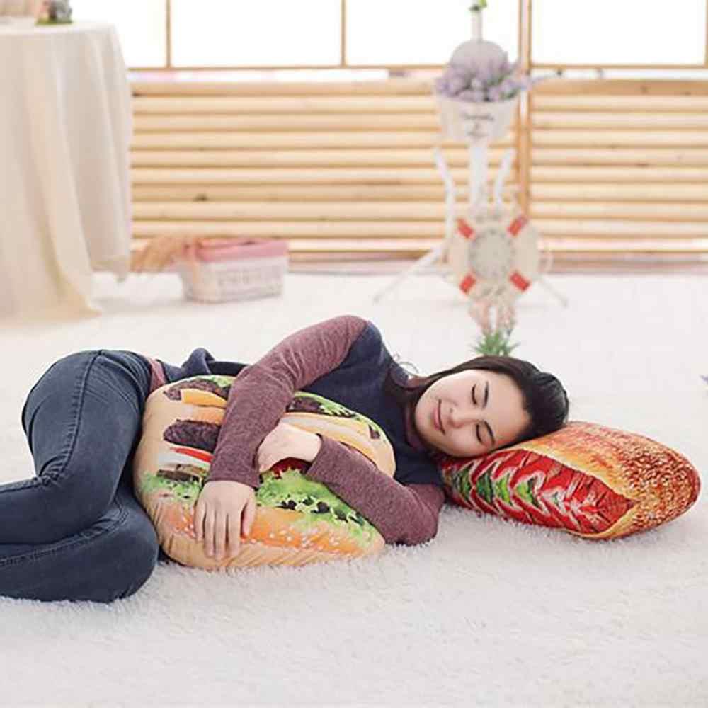 3D Plüsch Kissen Kissen Geschenk Weiche Angefüllte Rückenlehne Spielzeug Geburtstag Lustige Simulierte Snack Brot Form Für Kinder Home Decor Mädchen