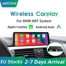 Senza fili di Apple CarPlay Android Auto per BMW NBT F10 F20 F30 X1 X3 X4 X5 X6 F48 F25 F26 F15 f56 MINI Series1 2 3 4 5 6 7 gioco Aereo
