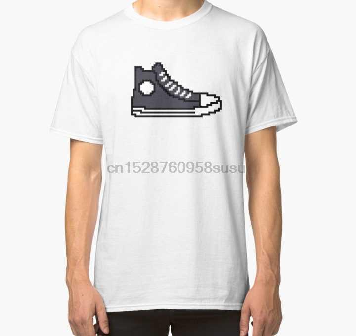 Áo Thun Nữ Tay Ngắn in Ludacris Giày Sneaker Huấn Luyện Áo Nhanh và Furious 8 Cổ Điển Áo Một Trong cổ Áo Thun Nữ