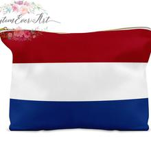 Netherlands cosmetic bag personalized makeup bag