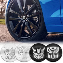 Wheel-Center-Cover 56mm 4pcs Wheel-Badge Modification-Sticker Universal Auto-Parts Decent/villain