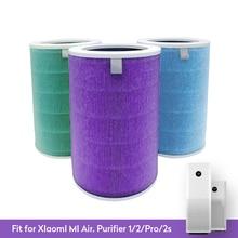 Actualizado para Xiaomi mi 1/2/2S/3/3H Pro purificador de aire filtro de carbono HEPA reemplazo del filtro de aire para el hogar Anti PM2.5 formaldehído