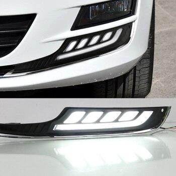 Waterproof Daytime Running Lights Fog Lamp Car Styling Led Day light DRL Lamp For Volkswagen Golf 7 2013 2014 2015 2016