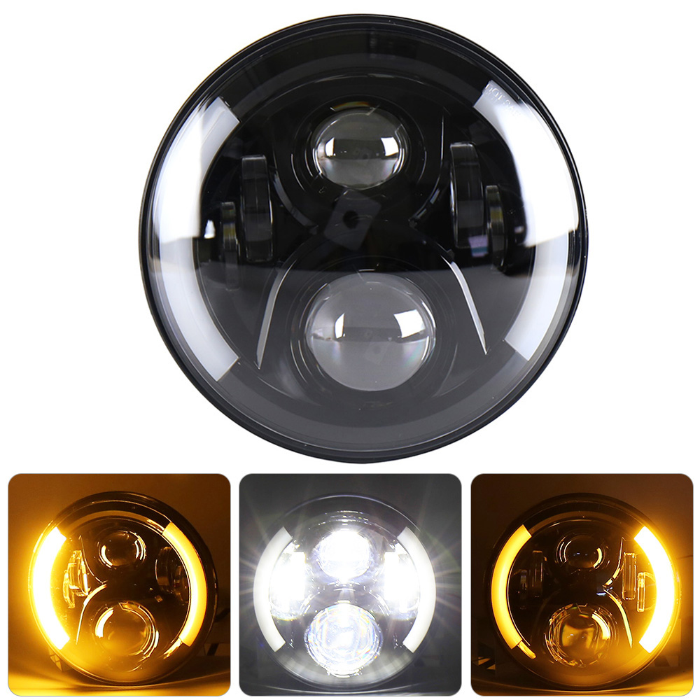 Motorcycle headlight for Harley (1)