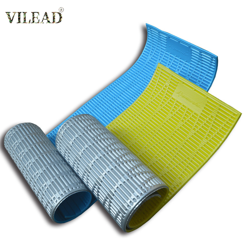 VILEAD Waterproof Outdoor Camping Mat 13mm Thicked Foldable Moisture-proof Camping Pad With Aluminum Foil For 1 Person 185*55cm