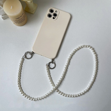 Luxury pearl lanyard crossbody shoulder strap phone case For iphone 11 11Pro 12 12Pro Max X XR XS Max SE2020 7 8 Plus cover