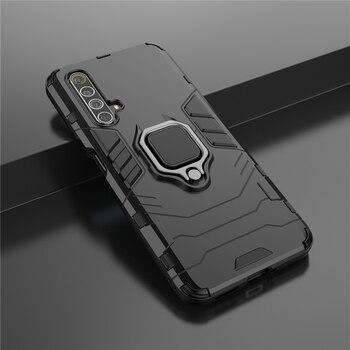 Перейти на Алиэкспресс и купить Защитный чехол с кольцом-подставкой на Realme X50 Pro 5G 6S X2 чехол XT X 5 6 C2 чехол для Real Me X50m жесткий защитный чехол для OPPO FIND X2 Lite