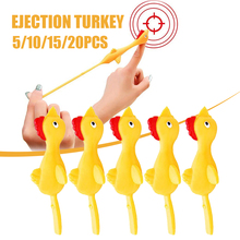 Finger Catapulted Turkey Creative Flying Chicken Toys Cute Decompression Toy Novelty Gifts For Children Игрушки Для Детей