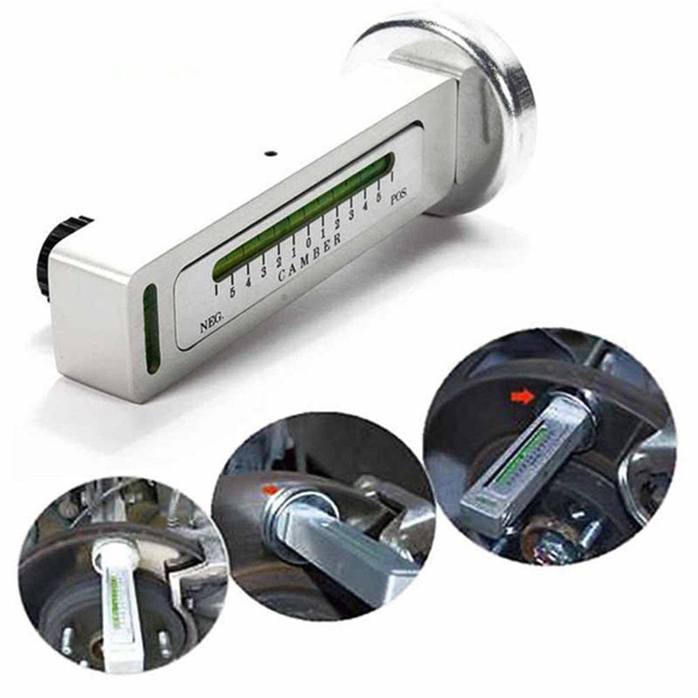 Car Four Wheel Positioning Magnetic Level Gauge Level Gauge Camber Adjustment Aid Tool Magnet Positioning