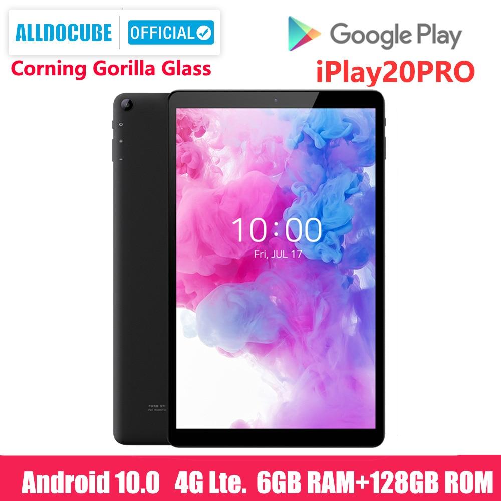 ALLDOCUBE New iPlay20 Pro 10.1 inch Android 10 Tablet 6GB RAM 128GB ROM SC9863A Tablets PC 1920*1200IPS 6000mAh TYPE-C 2