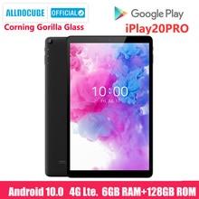 ALLDOCUBE New iPlay20 Pro 10.1 inch Android 10 Tablet 6GB RAM 128GB ROM SC9863A Tablets PC 1920*1200IPS 6000mAh TYPE-C