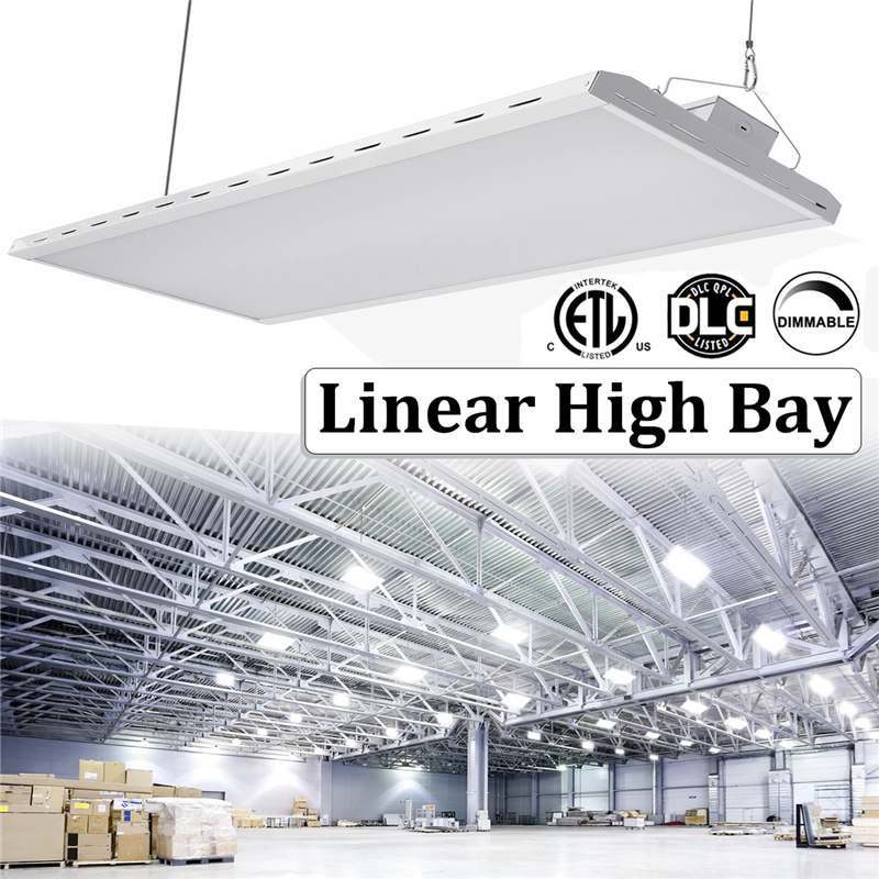 High Bay Linear 320W Tri-proof Industrial Light 1-10V Dimmable Controal Lens117X32X8.5cm+Component Bag