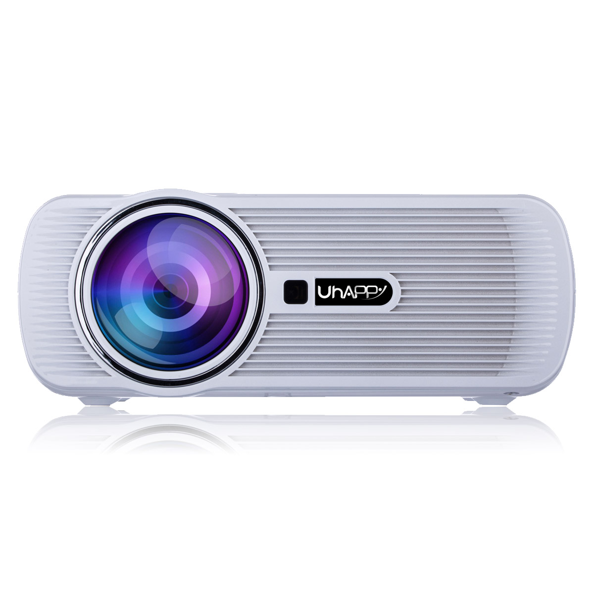 Multimedia 4K 1080P WiFi Android Bluetooth 3D LED Projector Home Cinema Supports Horizontal and Vertical Flip