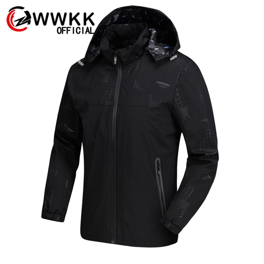 Men's Casual Zipper Hoodie Pocket Outwear Blouse Pilot Jackets Quality Casual Autumn Winter Waterproof Breathable Hooded Jacket