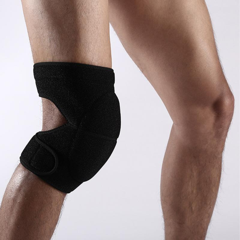 1pair Kneecap Kneepad Leg Warmer Support Compression Sleeves Home Gardening Shock Absorption Thick Sponge Knee Pads