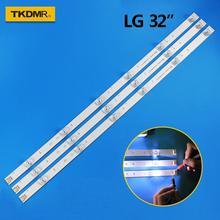 TKDMR 3pcs x TV LED Strips 6-lamps for LG 32TV 32MB25VQ 6916l-1974A 1975A 1981A lv320DUE 32LF5800 32LB5610 innotek drt 3.0 32