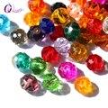 Comprar 1 y obtener 1 gratis 4mm cuentas de cristal coloridas cuentas de cristal cuentas sueltas cuentas redondas de joyería par