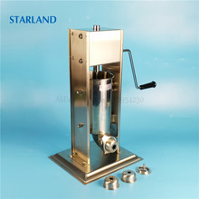2L Spanish Churros Machine Stainless Steel Sausage Stuffer Churro Extruding Machine Vertical Sausage Filler Manual Operation цена 2017