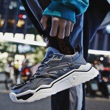 Лидер продаж; зимняя мужская обувь для скейтбординга в стиле ретро; мужские кроссовки; Удобная Нескользящая уличная модная спортивная повседневная обувь для мужчин;